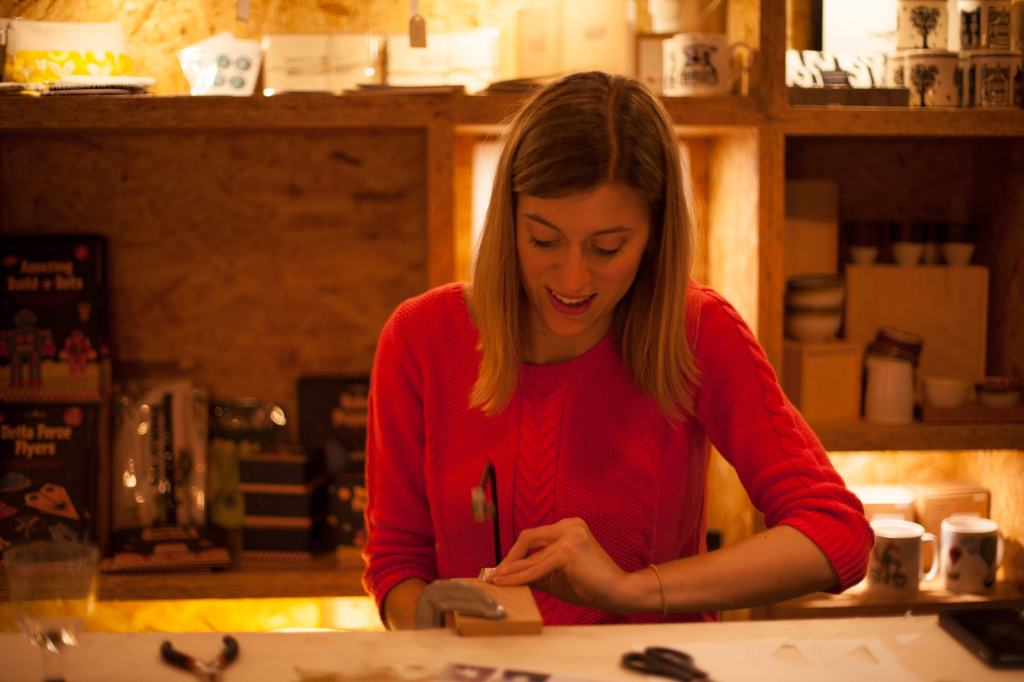Making Jewellery at The Turpentine in Brixton